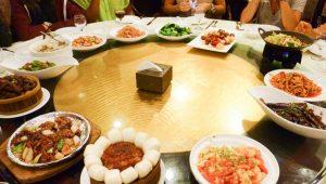 La Chine et la culture du restaurant